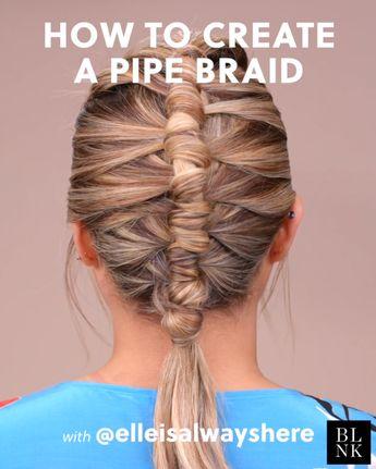 How to Create a Pipe Braid #braidtutorial #pipebraid #summerbraids #summerhairstyles
