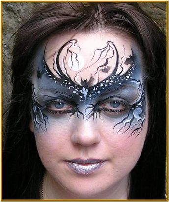 Face Mask Painting Ideas by Johnny Lopez