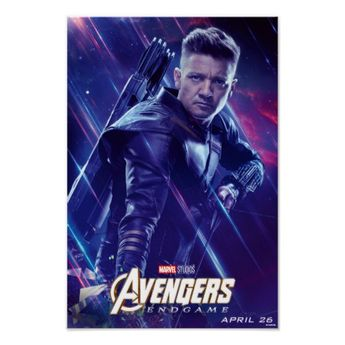 Avengers: Endgame | Hawkeye Theatrical Art Poster | Zazzle.com