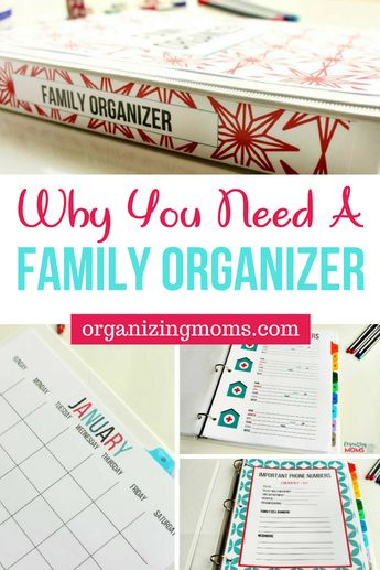 Why You Need a Family Organizer