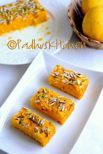 Eggless Mango Sooji Cake
