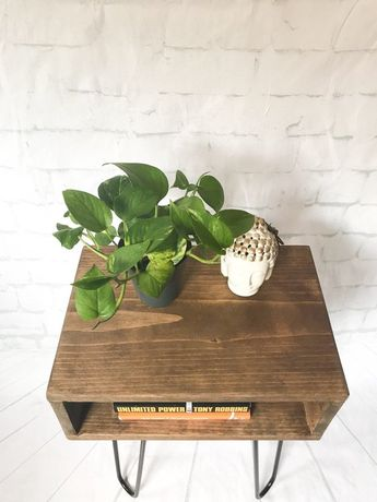 Handmade solid wood nightstand, bed side table, mid century modern console | coffee | end tables | Record Player Turntable Stand | small