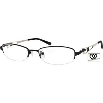 46b487e4b2a0 This half-rim women s frame is made from a range of materials including  metal alloy