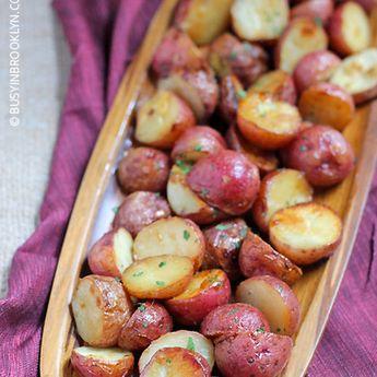 Honey Mustard Roasted Potatoes
