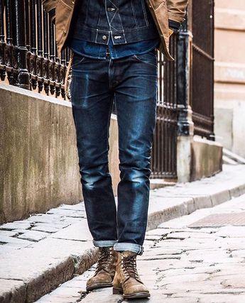 "Reposting @robindenim: ... ""Triple Denim.. @sennah0j"" Jeans pant clothing inspiration selvedge indigo"