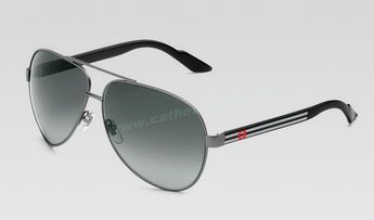 148ce030ec 2014 2014 Gucci GG 1951 S Sunglasses Silver Black White Frame Grey Lens  Fast Shipping For