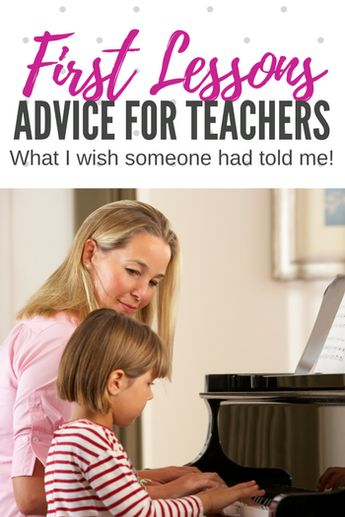 What I wish someone had told me about first piano lessons.