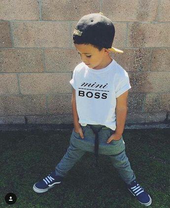 2018 Ins Hot Baby Girl Kids Mummy Daddy Adult Summer Shirt T Shirt Tanks Tops Vest Mini Boss Boss Lady Boss Man From Leelee_709, $5.43 | Dhgate.Com