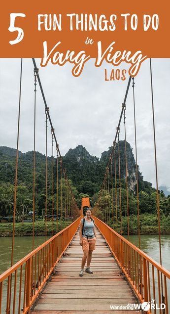 The 5 Most Fun Things to do in Vang Vieng