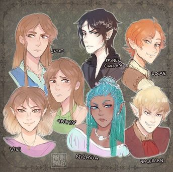 the cruel prince fan art cardan Ideas and Images   Pikef