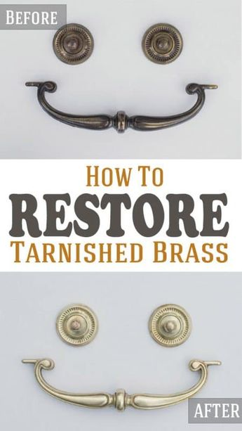 How to Clean Antique Tarnished Brass