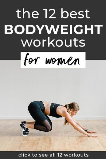 The 12 Best Bodyweight Workouts for Women