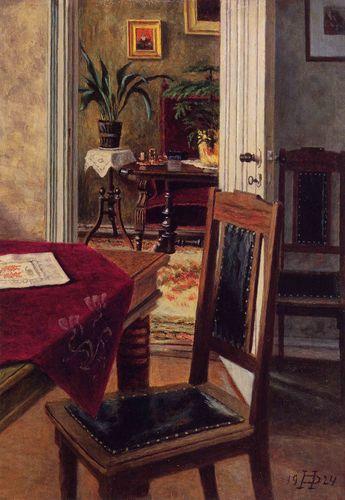 Þórarinn B. Þorláksson - Iceland Heimili listamannsins / The Artist's Home Ár/Year: 1923 Stærð: 35x25 cm