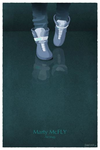 Famous Shoes - Marty by Nicolas Bannister - Back to the Future II