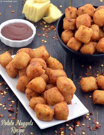 Potato Nuggets, Vegetarian Aloo Nuggets