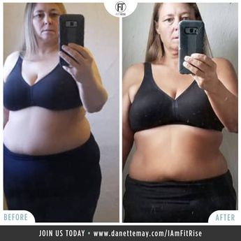"Meet Kathy Hale Started: 2/2018 She shares, ""I sleep much better at night and have a lot more energy."" We are so proud of you and all your hard work, Kathy! What an amazing transformation! ✔ 10-20 mins Recipes ✔ 15-minute Workouts ✔ Quick effective Feel Good Meditations ✔ Community support! • ✅ Join us in Our Fit Rise Tribe!  Visit danettemay.com/FitRise"