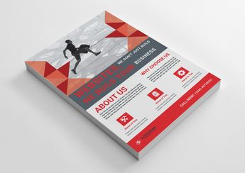 Successful Modern Business Flyer Design Template - Graphic Templates