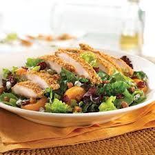TGI Fridays Restaurant Copycat Recipes: Pecan Crusted Chicken Salad
