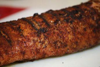 Southwestern Pork Tenderloin with Cumin Mayo