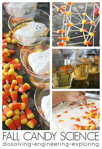 Dissolving Candy Corn Experiment