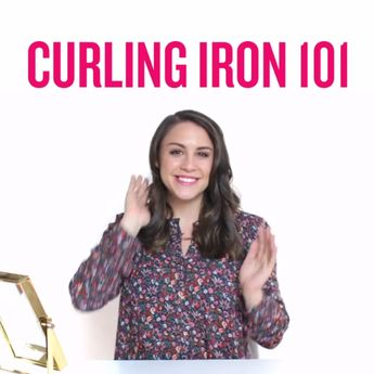 3 Curling Iron Techniques You Might Want to Master