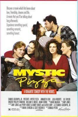 Mystic Pizza Movie Poster Puzzle Fun-Size 120 pcs