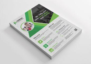 Corporate Print Flyer Design - Graphic Templates