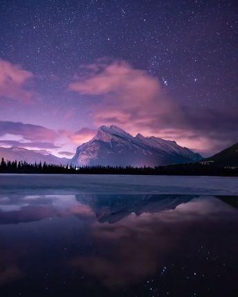 Starry sky timelapse by Rachel Jones Ross  #milkyway #stars #galaxy #landscape #night #sky #lake