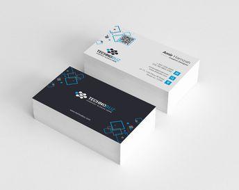 Taurus Premium Elegant Business Card Template - Graphic Templates