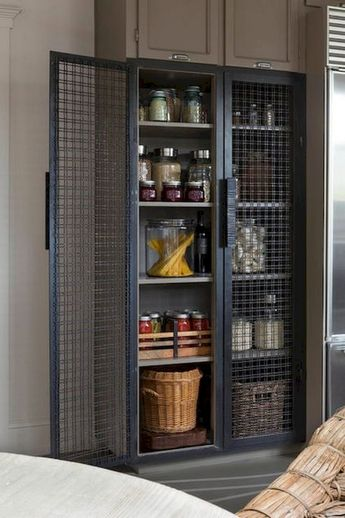35 Why A Cool Pantry Door Is The Secret Ingredient To A Cool Kitchen Design