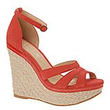 In case I can't walk in the heels, these are the same color and my favorite style...wedges!!