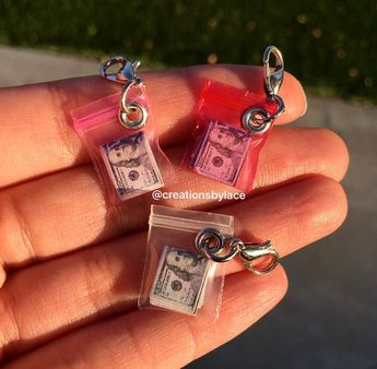 Authentic Miniature Money Bag Charms!