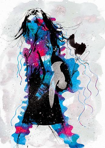 Johnny Cheuk Fashion Illustrations