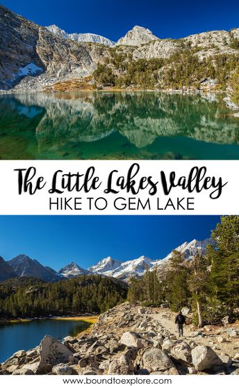 Hiking Little Lakes Valley to Gem Lakes [Mammoth Hikes]