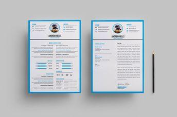 Minimalist Stylish CV Design 002809 - Template Catalog