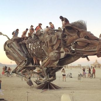 This is Burning Man... Amazing art, amazing people, and oh SO much love! ✨ The…