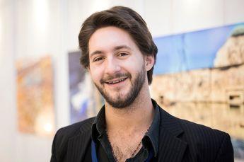 Brussels, Belgium 10 March 2014 Innovation Convention 2014. Portrait of Noam Kostucki. Photo: European Union - Ezequiel Sc...