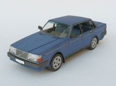 Volvo 240 Paper Car Free Vehicle Paper Model Download