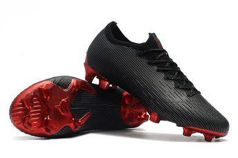 40571d64dd178 Nike Mercurial Vapor 12 Elite FG Jordan x PSG Black Silver Red