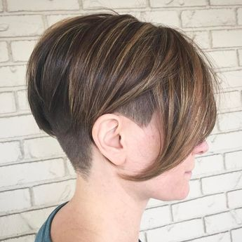 20 Cute Shaved Hairstyles for Women