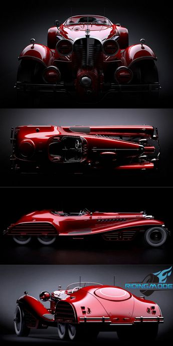 The Red Skull Coupe Concept - Hail Hydra!!