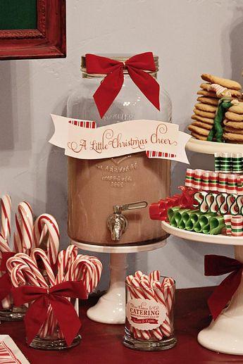"Santa's Workshop 9"" Scroll Cake Banner"