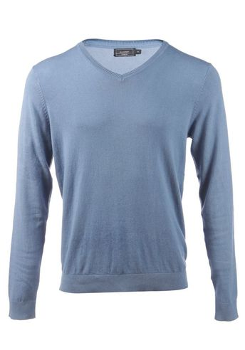 652449e2 Men's V Neck Pullover Jumpers Sweater Premium 100% Cotton #fashion  #clothing #shoes