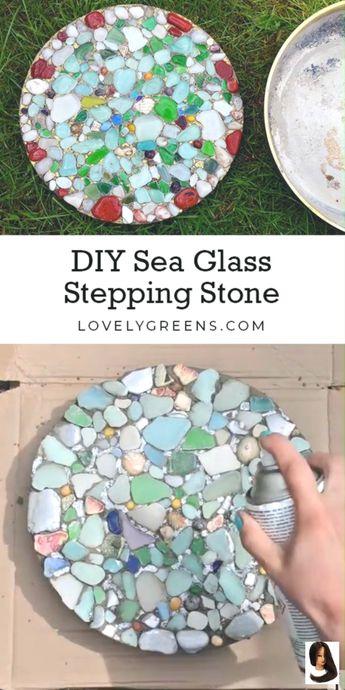 Comment faire des pierres de gué en verre de mer bricolage - New Ideas