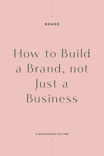 I recently wrote an article on the differences between a business and a brand. Today I want to talk you through the initial steps that you can take to build a brand, not just a business. Building a brand is not something that happens overnight. It's something that evolves over time and will continue to …
