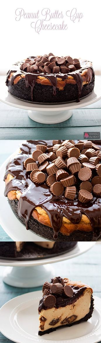 Peanut Butter Cup Cheesecake - Handle the Heat