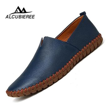 Big Size 39-50 Leather Mens Shoes Summer Breathe Men Luxury Driving Shoes Slip on Casual Male Loafers Hot Sale 2018 New. Yesterday's price: US $58.00 (51.21 EUR). Today's price (February 3, 2019): US $20.30 (18.00 EUR). Discount: 65%. #Men #Shoes #loafers #breathe