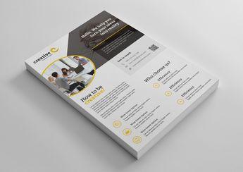Paris Elegant Professional Business Flyer Template - Graphic Templates
