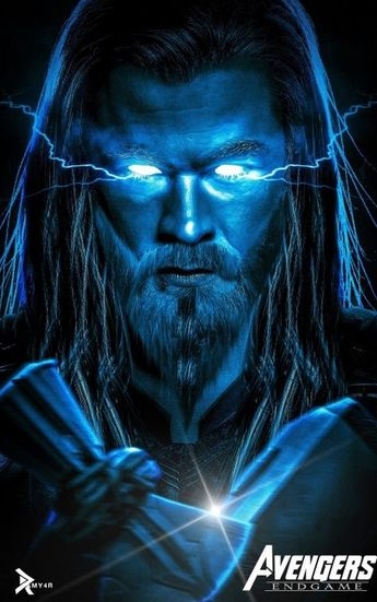 Thor The Strongest Avenger - Endgame Artwork by Ramy4r