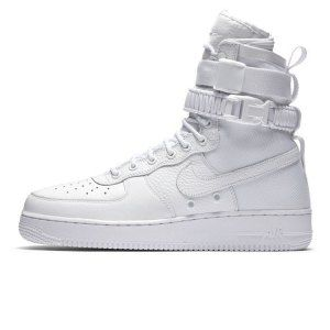 00c88437dc0a Mens Womens Nike Special Forces Air Force 1 High Boots All White 903270 100  Running Shoes
